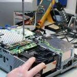 تعمیر لامپ بلاست ویدئو پروژکتور