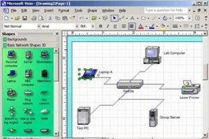 نرم افزار طراحی شبکه