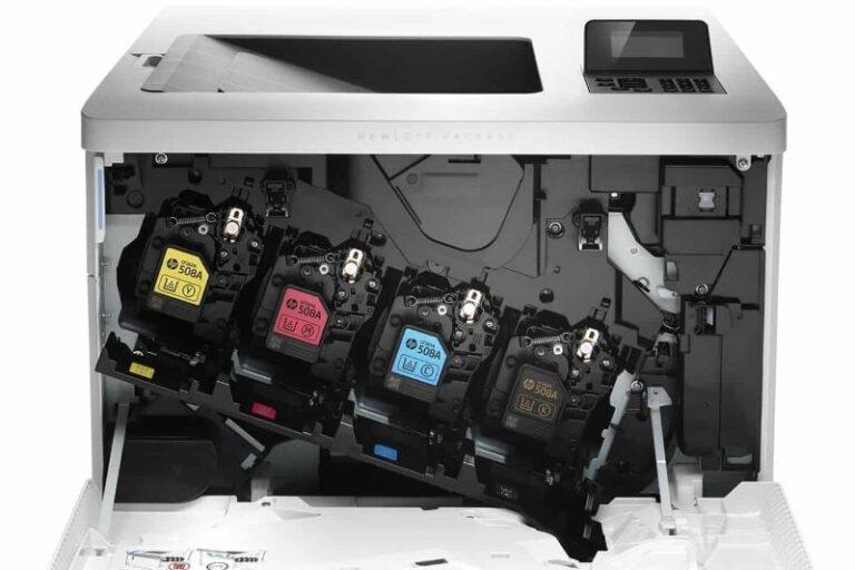 پرینتر لیزری رنگی اچ پی M553dn